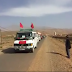 سكان منطقة إمغران ورزازات يتوجهون لمشروع نور لإستقبال جلالة الملك محمد السادس