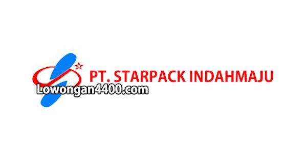 Lowongan Kerja PT. STARPACK INDAHMAJU Pulogadung Februari 2019