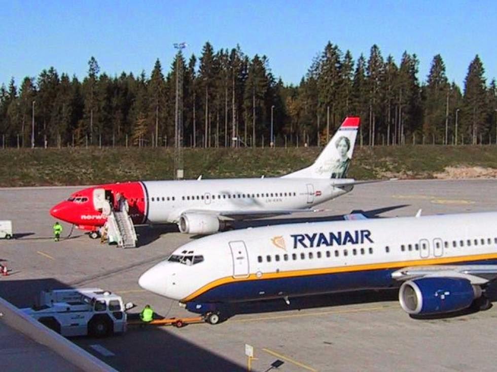 OSLOAIRPORTS.COM: Derfor er Norwegian positive til Ryanair