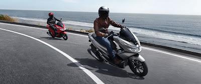 sepeda motor Honda PCX