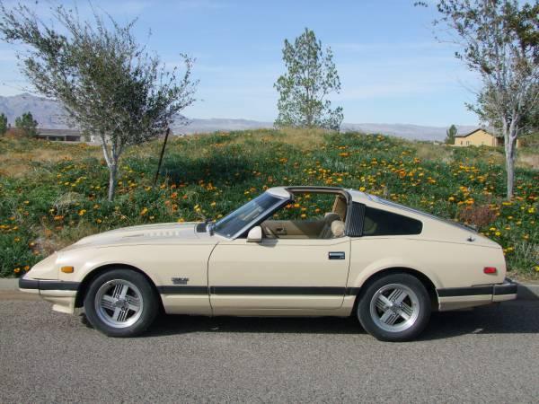 Rare 1982 Datsun 280zx Turbo Auto Restorationice