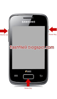 1. First Turn Off Your Call Phone Remove Battery and Sim Card.    2. Than Pressing Volume Up Button + Home Button + Power Button Until Show Samsung Logo On Screen.