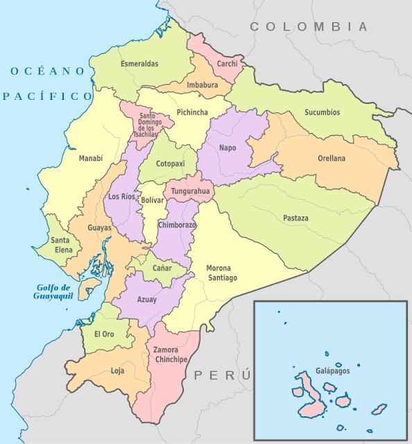 provincias ecuador