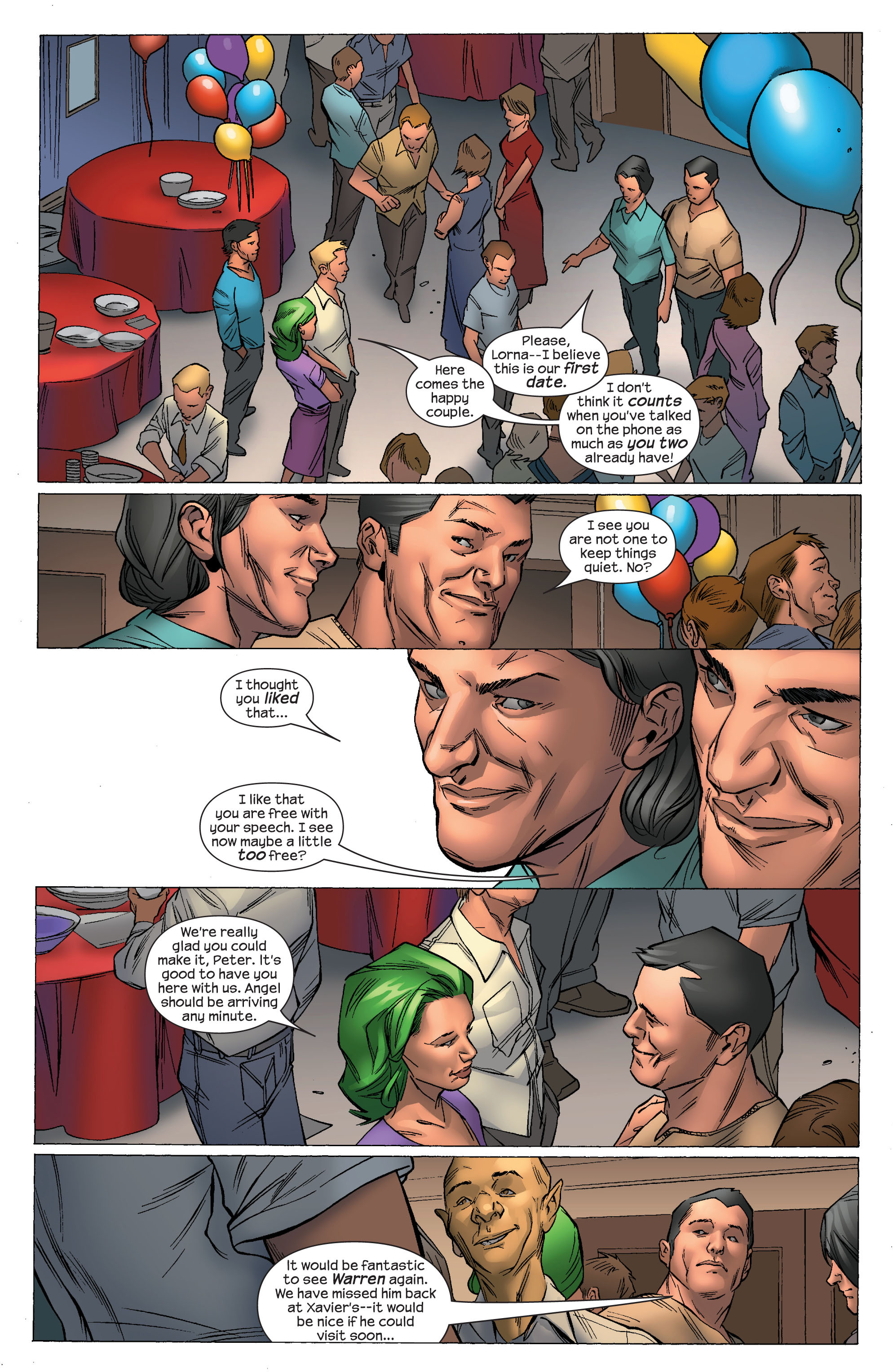 Read online Ultimate X-Men comic -  Issue #69 - 18
