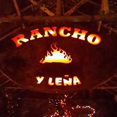 entrada del restaurante rancho y leña cucuta