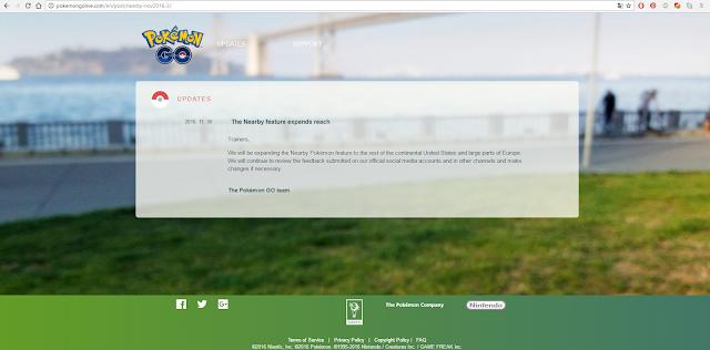 Pokémon GO: Seu novo sistema de rastreio estreia em outros países da Europa.