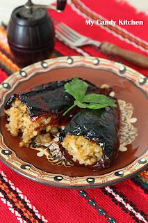 Сухи чушки с ориз