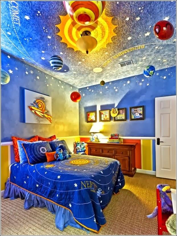 Dormitorios para ni os tem tica universo dormitorios - Habitacion de ninos decoracion ...