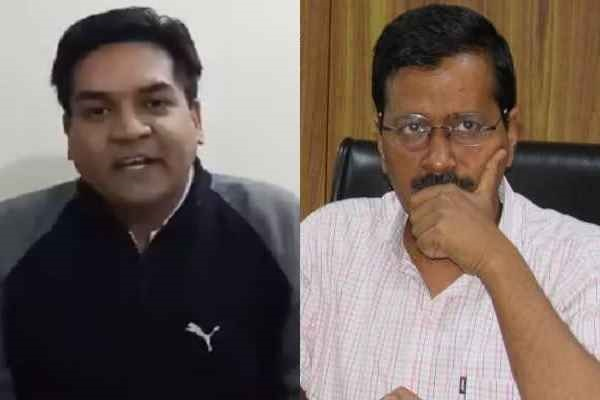 kapil-mishra-bring-kalawati-koli-for-4th-rajya-sabha-candidate-aap