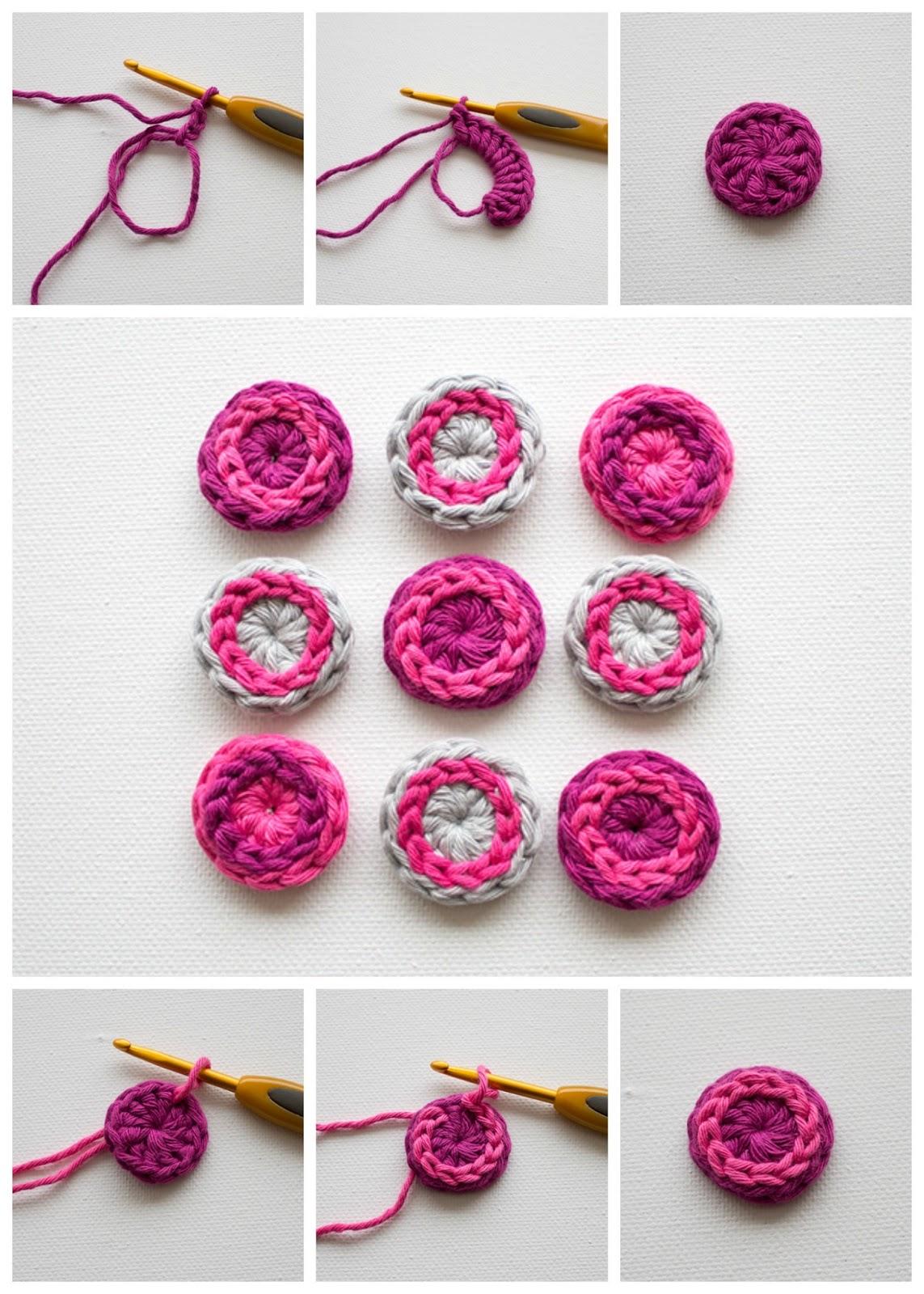 Ametsak Tutorial Botones De Crochet 183 Cool Crochet Buttons