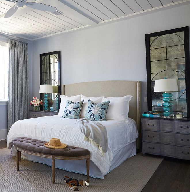 Florida vacation home interiors ideas for Sherwin williams lavender gray