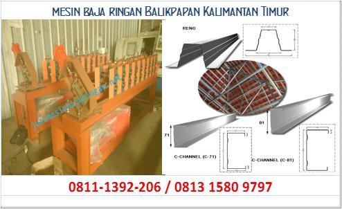 jual mesin baja ringan Balikpapan Kalimantan Timur