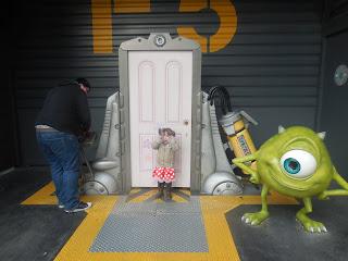 Monsters Inc Door in Walt Disney Studios at Disneyland Paris