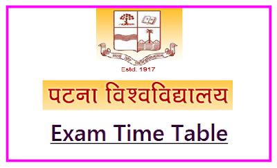 Patna University Date Sheet 2019