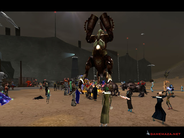 Anarchy Online Gameplay Screenshot 1