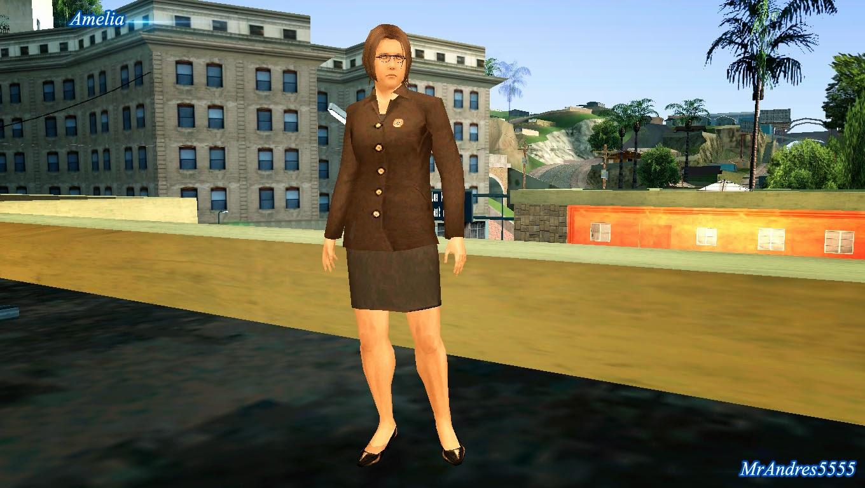 GTA-SA-Modificaciones: Skin Zoe from Resident Evil 7 - GTA SA