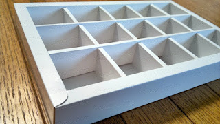 Kotak | Box coklat isi 15 (5x3)