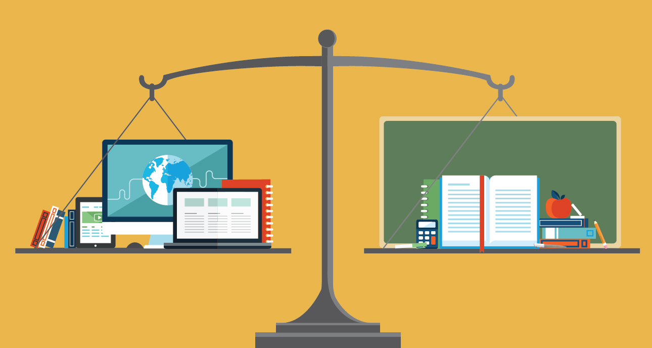 Modern Classroom Vs Traditional Classroom : Education podium why distance is getting a high