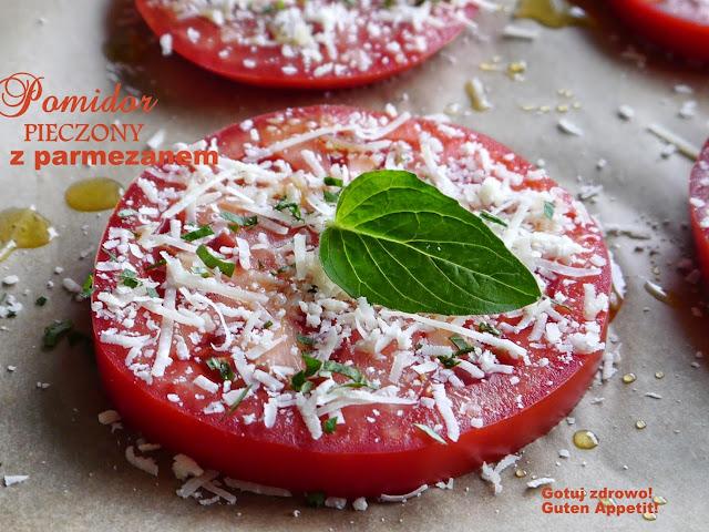 Pomidory pieczone z parmezanem - Czytaj więcej »