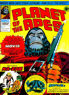Marvel UK, Planet of the Apes #71