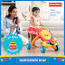 New parents can celebrate their baby's first birthday Fisher-Price style