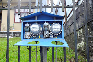 Electricity meters in Puriscal
