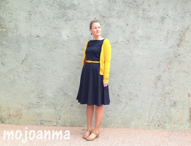 schneidernmeistern, schwarz, schickes kleid, kleid , gelb