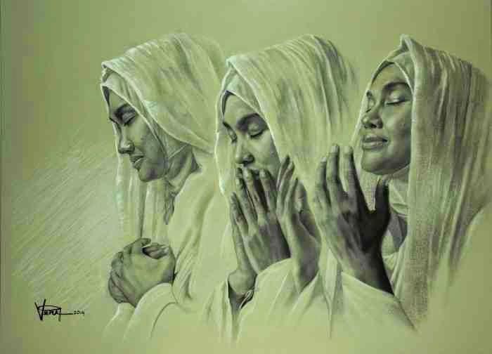 Индонезийский художник. Veri Apriyatno