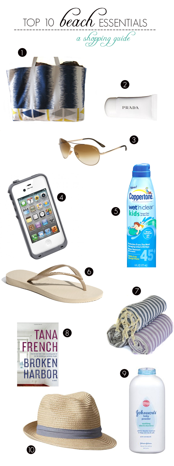 top 10 must have essentials for a beach honeymoon by oh lovely day