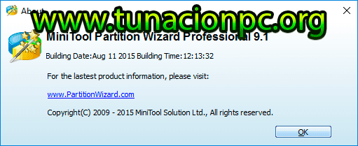 MiniTool Partition Wizard All Editions Imagen Version