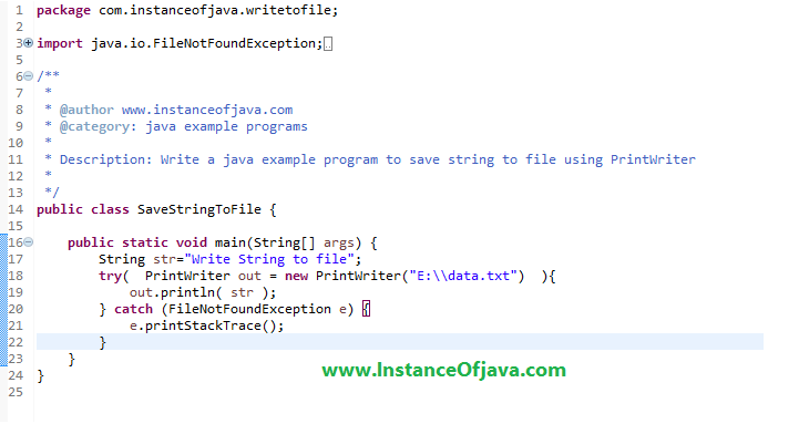 java write to file append