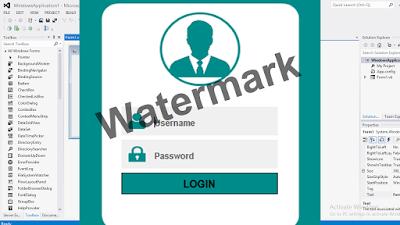 Membuat Watermark Yang Benar Pada VB.Net