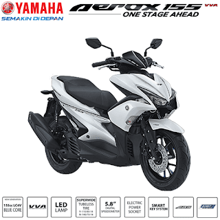 Kredit Motor Yamaha Aerox 155 VVA S Version
