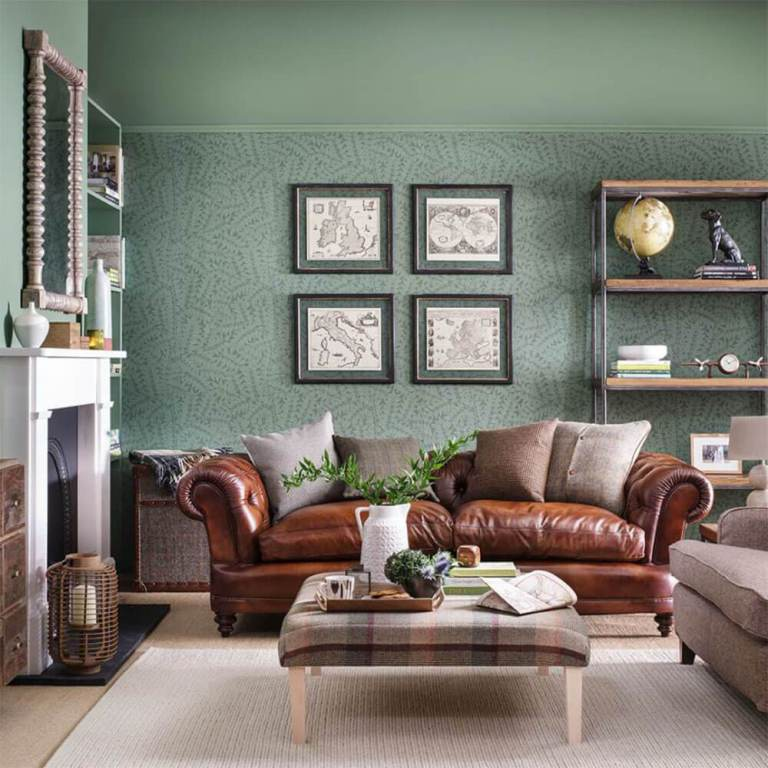 Beautiful Green Living Room Ideas