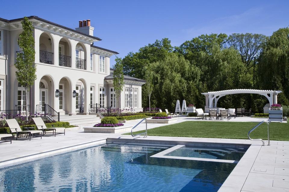 Exceptional Elegant Pool Design By Mariani Landscape.