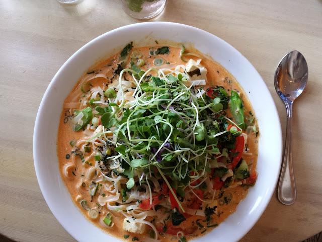 Vegan curry from Heirloom Vegetarian (Vancouver)