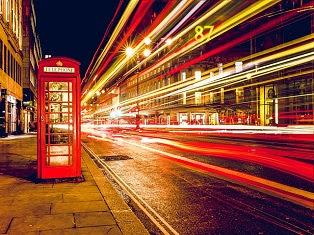 cabina telefonica a londra