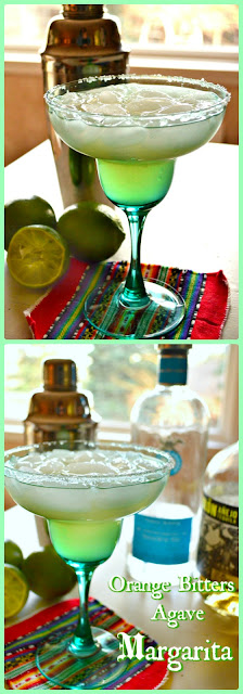This refreshing margarita is made with simple ingredients. No sweet and sour in this, just a touch of agave, fresh lime juice, tequila and a few drops of orange bitters send this over the top! #margaritas www.thisishowicook.com