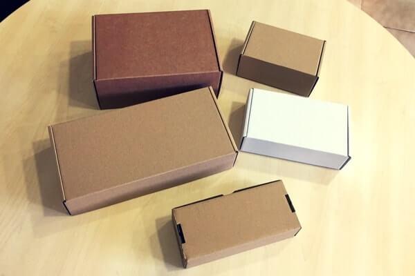 cajas de envio para material de oficina