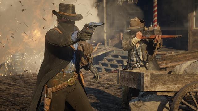 قبل ساعات من إطلاق لعبة Red Dead Redemption 2 تسريب عدد رهيب من العروض بالفيديو و تحذير بحرق المحتوى ، إليكم التفاصيل ..