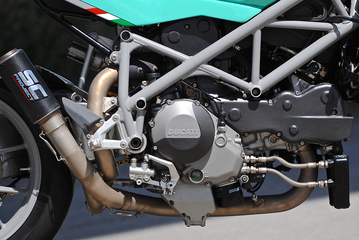 Ducati 848 Cafe Racer Build by Mike Salek - MOTOAUTO - Best Custom
