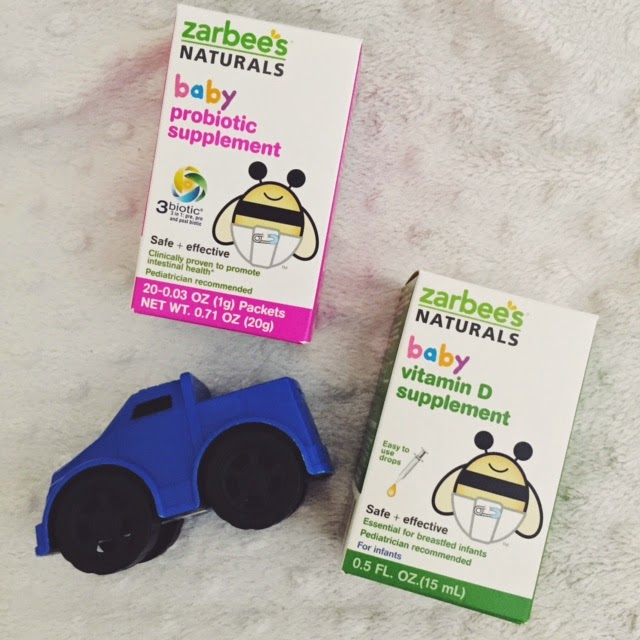 Check It Out Zarbee S Naturals Baby Vitamins And