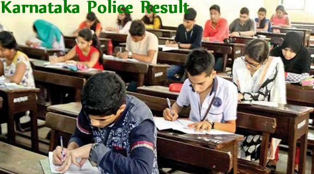 Karnataka Police Result