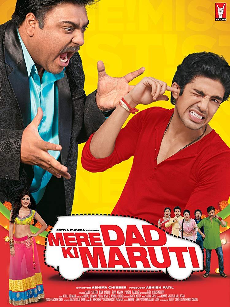Mere Dad Ki Maruti 2013 Hindi Movie 300MB HDRip 480p ESubs