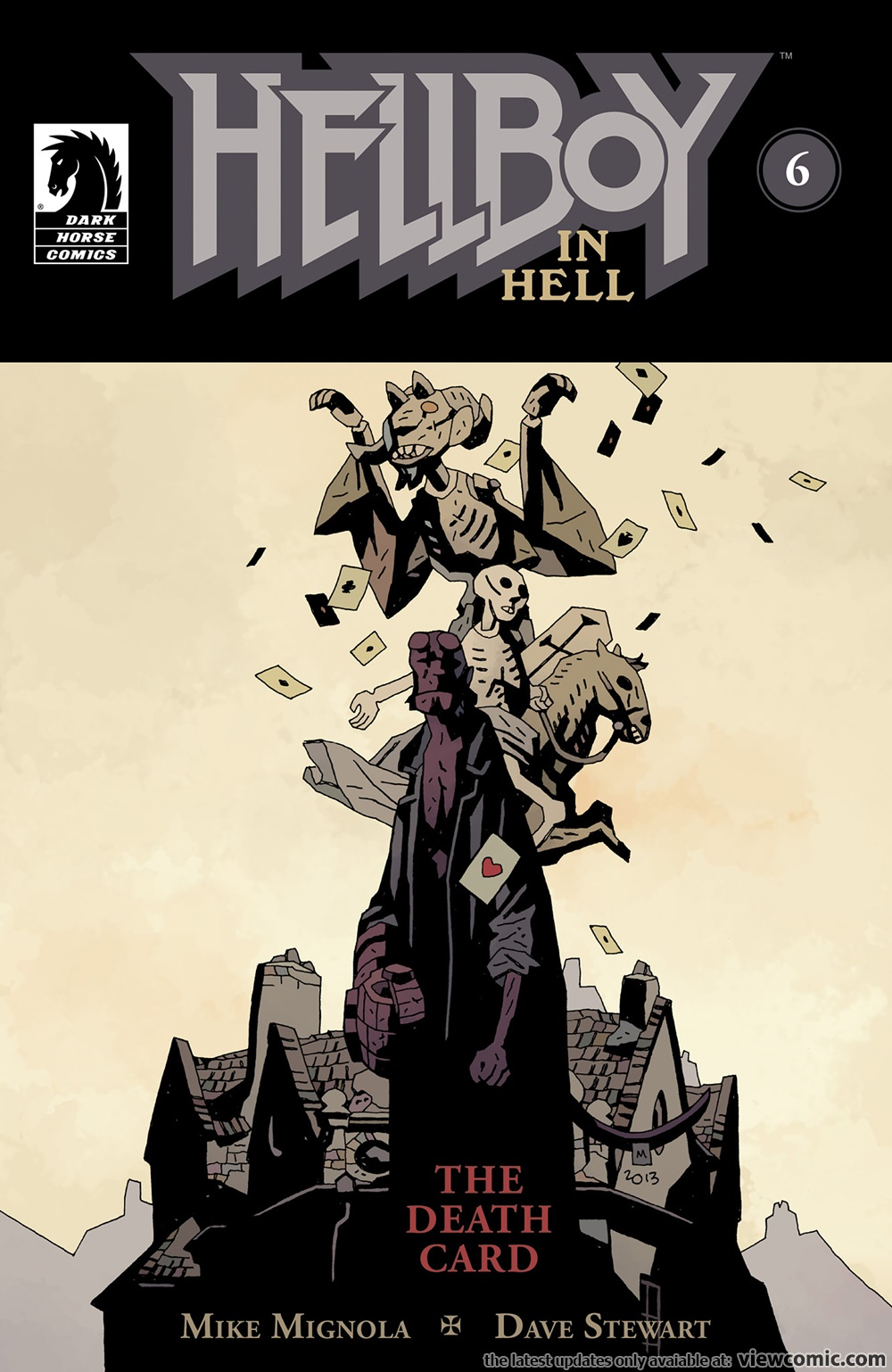 Hellboy in Hell 006 – The Death Card (2014)   Viewcomic