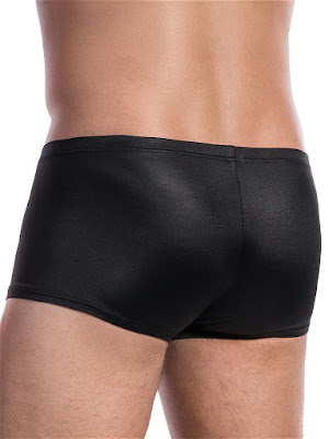 Olaf Benz Zippants RED1605 Underwear Black Back Detail Gayrado Online Shop
