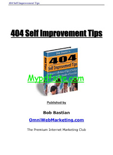 404 Self Improvement Error Tips