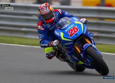 Vinales Tumbangkan Marquez di Latihan Bebas Kedua GP Jerman