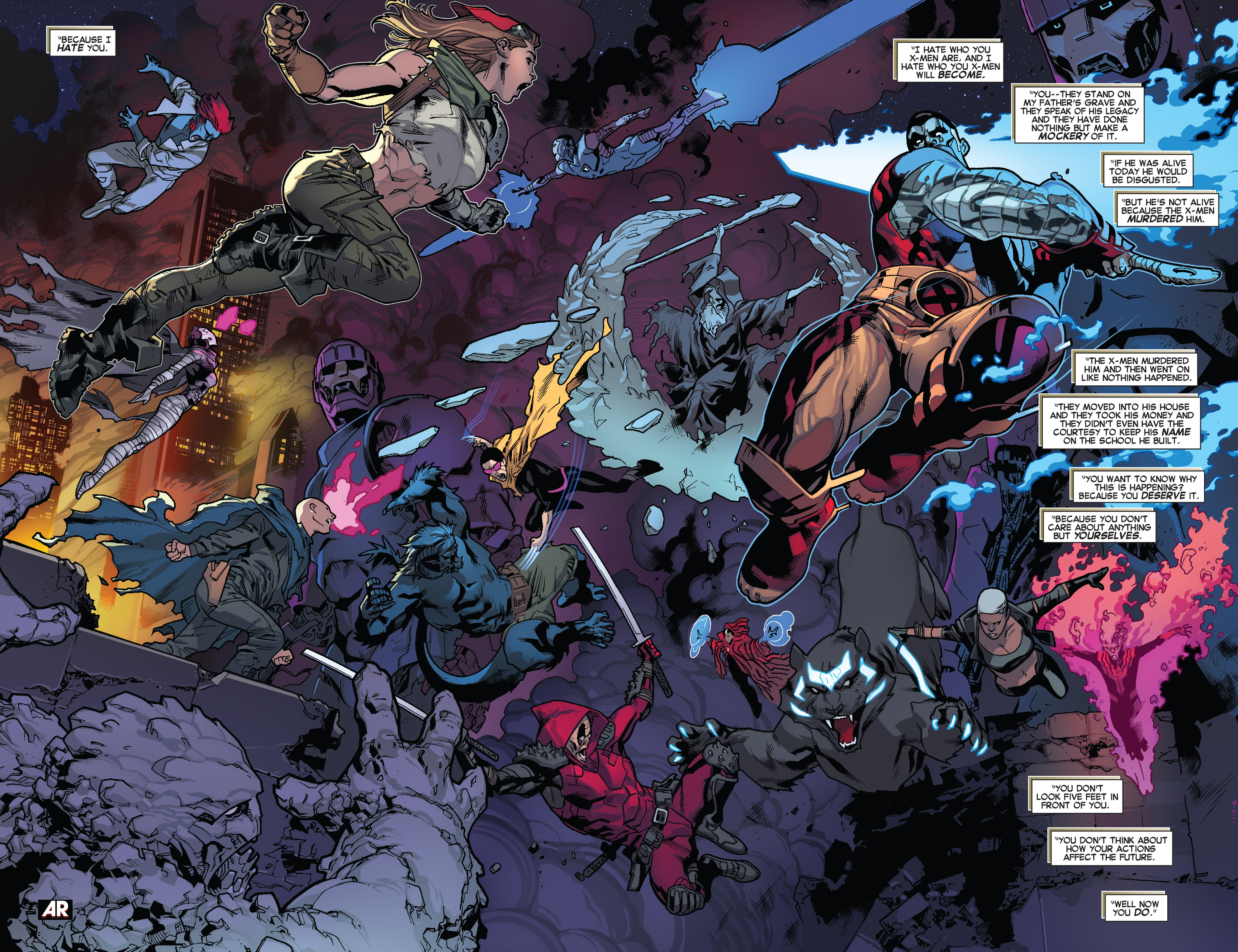 Read online All-New X-Men (2013) comic -  Issue #28 - 9