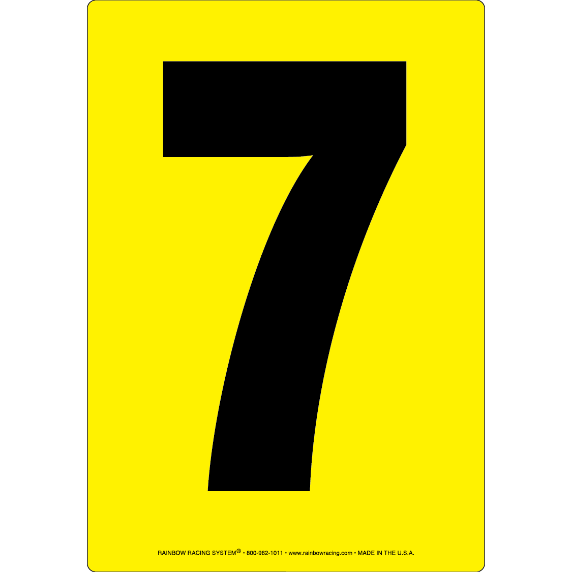 The Interesting Facts About Number Seven  7